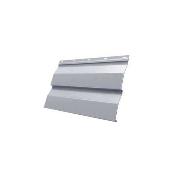 Корабельная Доска 0,265 0,45 PE RAL 9006 бело-алюминиевый