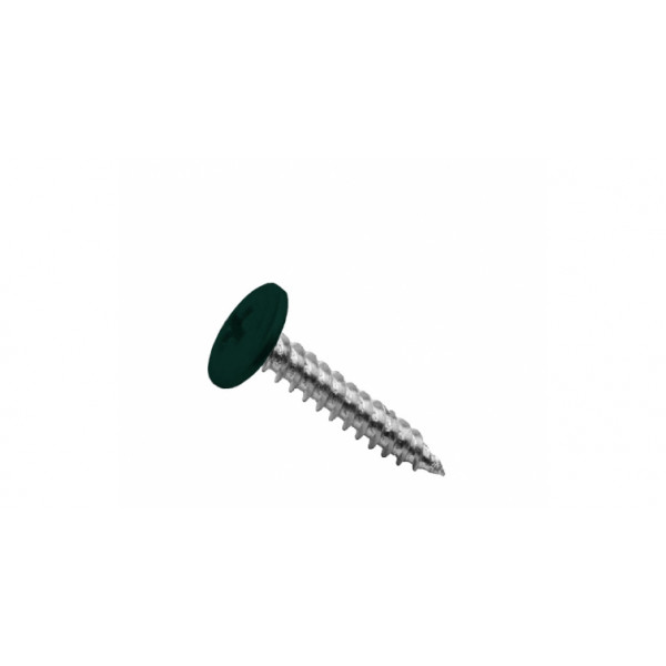 Саморезы ПШ 4,2х19 RAL 6005 (200 шт)