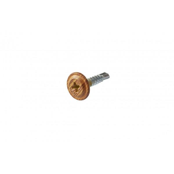 Саморезы ПШС 4,2х19 Золотой Дуб (Daxmer, 500 шт)