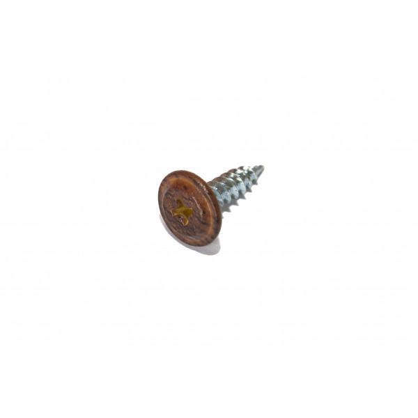 Саморезы ПШ 4,2х19 Темный Дуб (Daxmer, 500 шт)