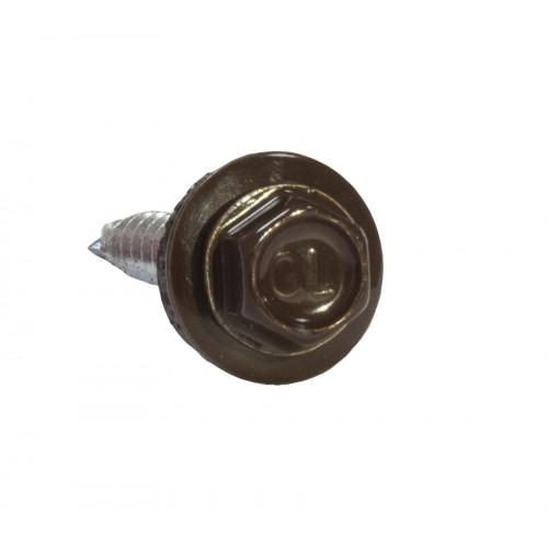 Саморезы 4,8х50 RAL 8017 (150 шт)