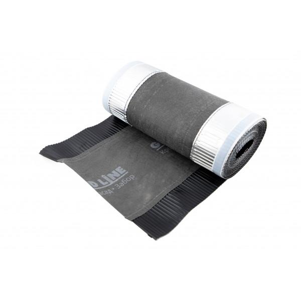 Аэроэлемент конька GRAND LINE черный, 310мм (5м)