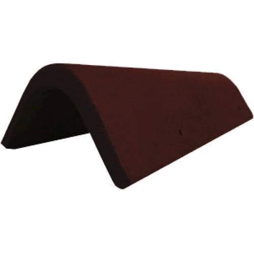 Боковая универсальная черепица Braas коричневый