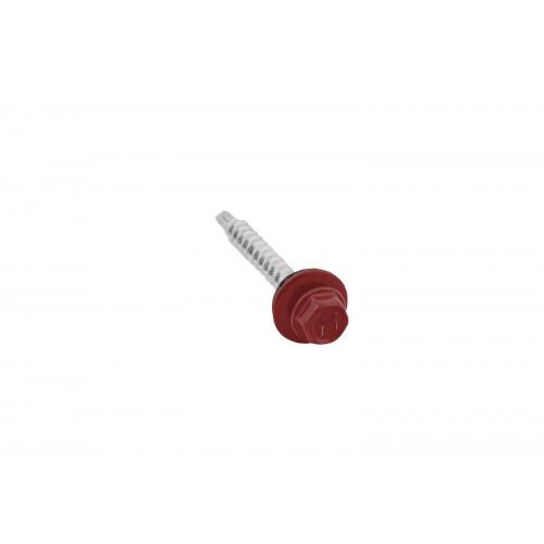 Саморезы 4,8х35 RAL 3011 (Даксмер)