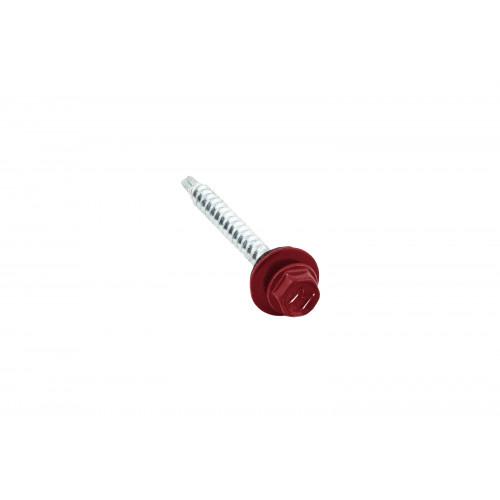 Саморезы 4,8х50 RAL 3003 (Даксмер)