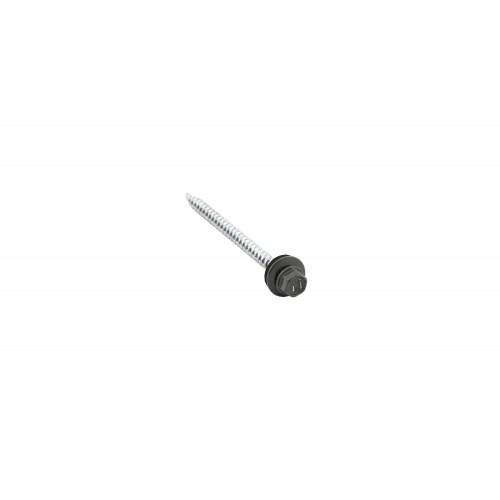 Саморезы 4,8х70 RAL 7005 (Даксмер)