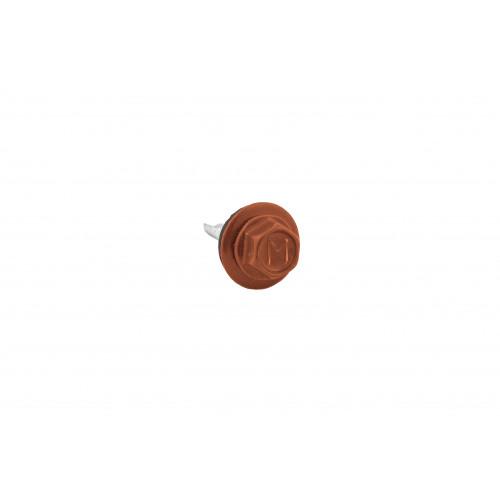 Саморезы 5,5х19 RAL 8004 (Даксмер)