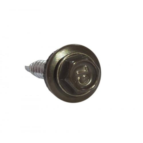 Саморезы 5,5х25 RAL 8019 (Даксмер)