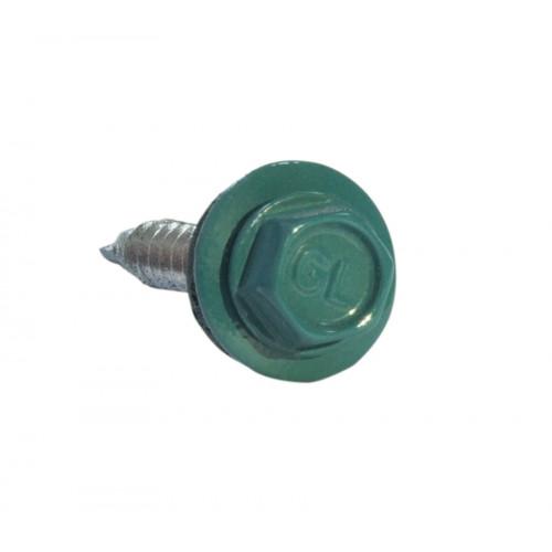 Саморезы 5,5х25 RAL 5021 (Даксмер)