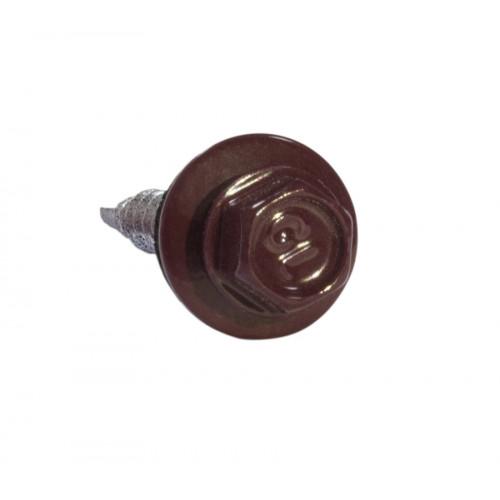 Саморезы 5,5х25 RAL 3005 (Даксмер)