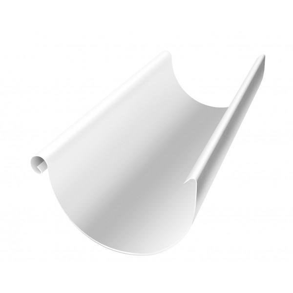 Желоб полукруглый 150 мм 3 м RAL 9003 сигнальный белый