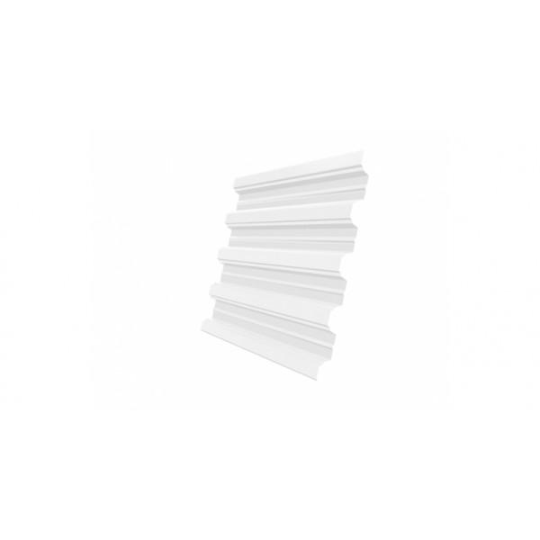 Профнастил Н75R 0,7 PE RAL 9003 сигнальный белый DRIP