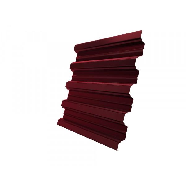 Профнастил Н75R 0,7 PE RAL 3005 красное вино