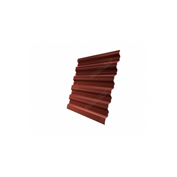 Профнастил HC35R 0,5 Satin RAL 8004 терракота