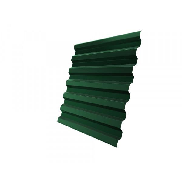 Профнастил С21R 0,45 PE RAL 6005 зеленый мох