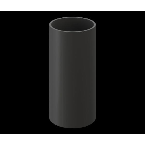 Труба водосточная 1м Döcke Premium, графит