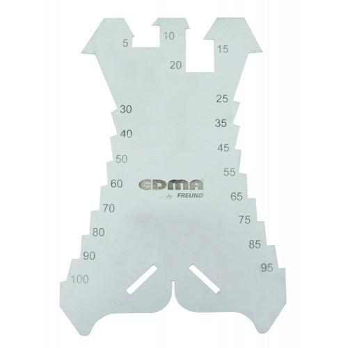 Шаблон для разметки на металле EDMA - 036155