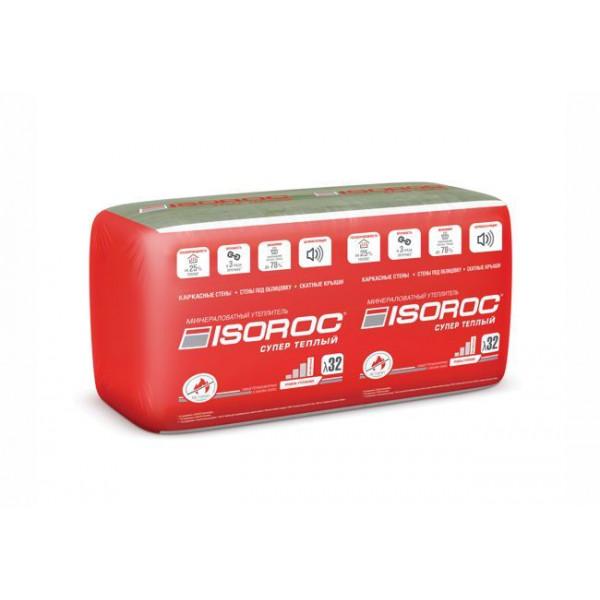 Утеплитель ISOROC Супер Теплый 50х610x1000 (0,305м3