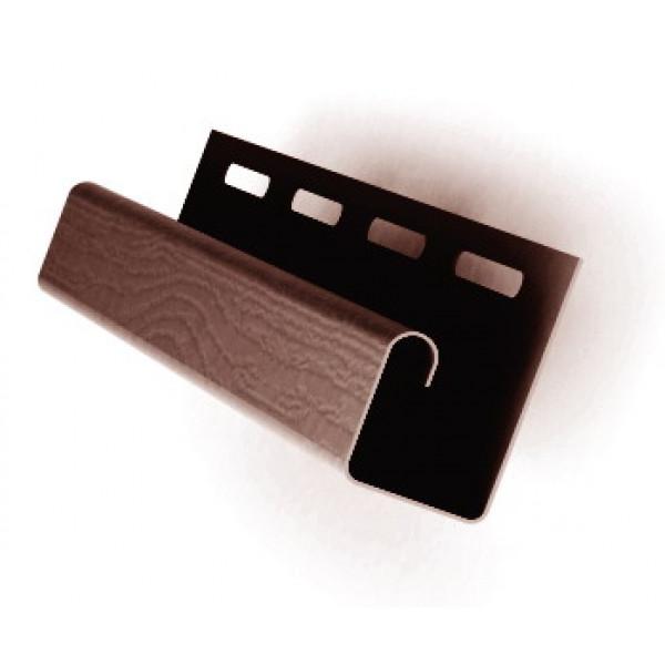 Профиль J 3,00 Grand Line коричневый (slim)