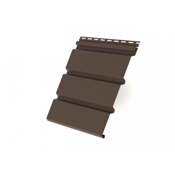 Софит T4 без перфорации Grand Line 3,0 коричневый