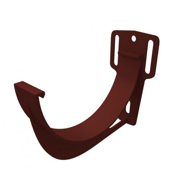 Кронштейн желоба slider ПВХ Grand Line шоколадный (RAL 8017)