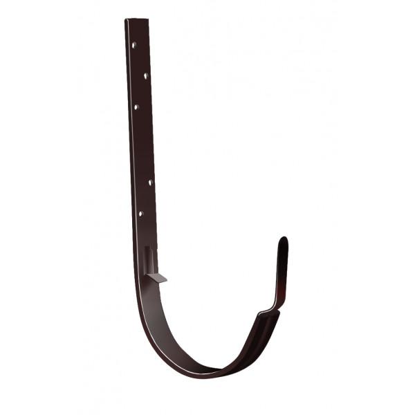 Крюк длинный Optima 125мм RAL 8017 шоколад