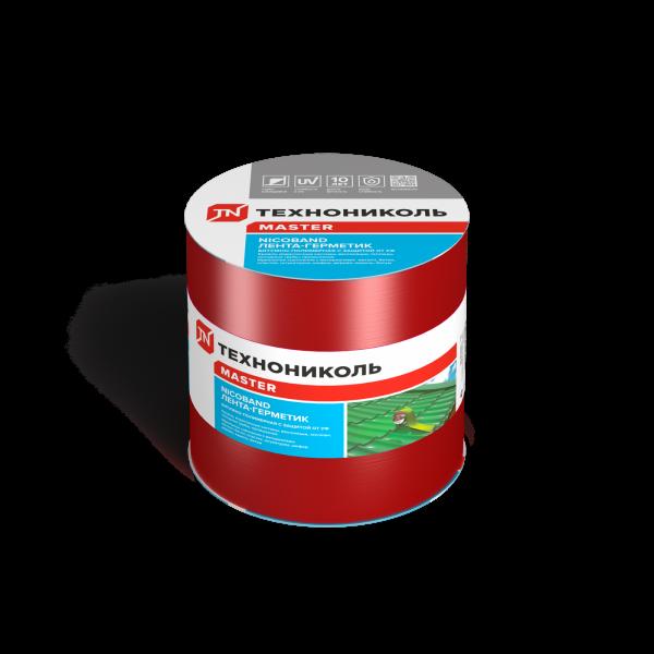 NICOBAND самоклеящаяся герметизирующая лента красная 10м*15см