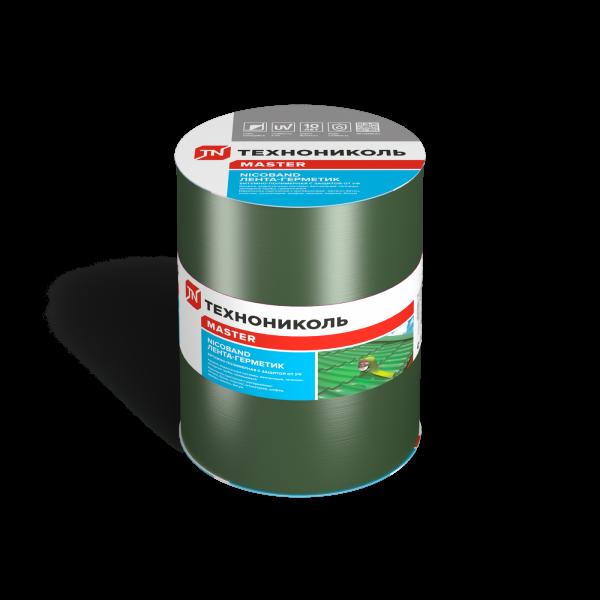 NICOBAND самоклеящаяся герметизирующая лента зеленая 10м*20см