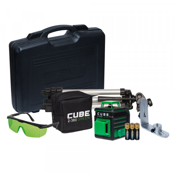 Нивелир лазерный ADA Cube 2-360 Green Ultimate Edition