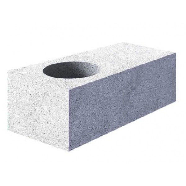 Газобетон Ytong O-блок 500х250х300мм B3,5 D500 1Ø 250мм