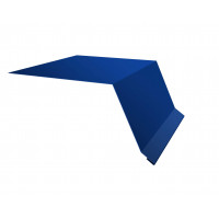 Планка капельник100х55 0,45 PE с пленкой RAL 5005 сигнальный синий