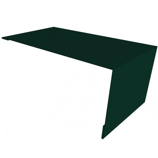 Планка мансардная 0,45 PE с пленкой RAL 6005 зеленый мох