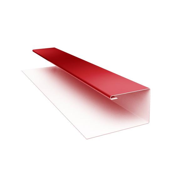 Планка П-образная (Блок-хаус, Экобрус) Grand Line 0,45 PE с пленкой RAL 3011 коричнево-красный