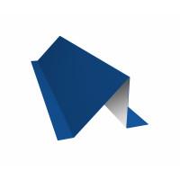 Планка снегозадержания 0,45 PE с пленкой RAL 5005 сигнальный синий