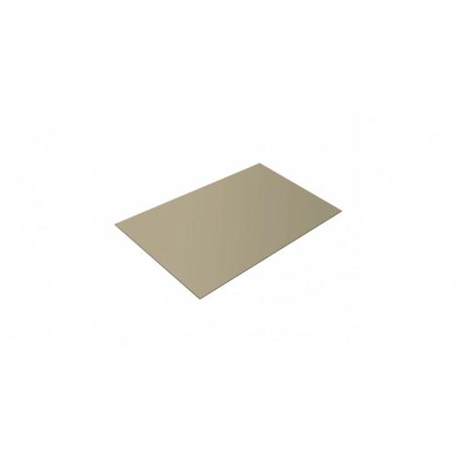 Плоский лист 0,45 PE RAL 1015 светлая слоновая кость