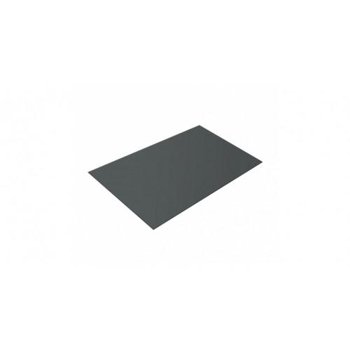 Плоский лист 0,45 PE RAL 7005 мышино-серый