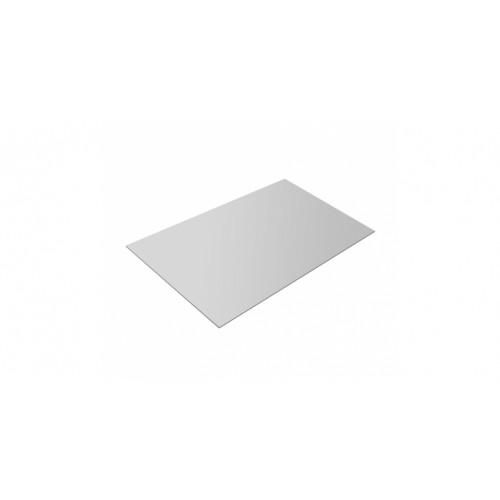 Плоский лист 0,45 PE RAL 9003 сигнальный белый