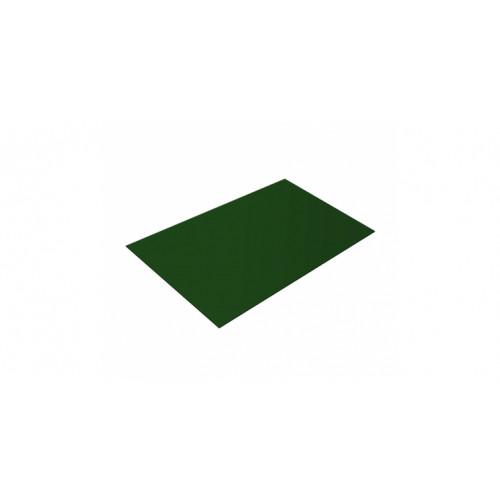 Плоский лист 0,45 PE RAL 6002 лиственно-зеленый