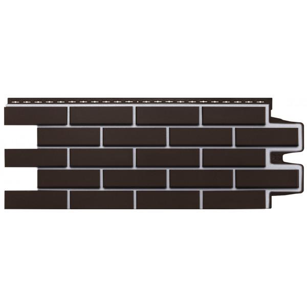 Фасадная панель Grand Line Клинкерный кирпич Премиум шоколадная