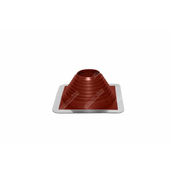 Проходной элемент MF прямой №5 красный (102-178мм) +185 EPDM