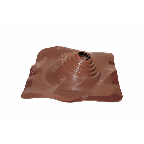 Проходной элемент MF профи №1 коричневый (75-200мм) +240 силиконовый