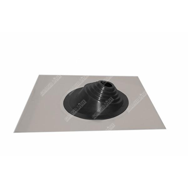 Проходной элемент MF угловой №1 черный (75-200мм) +185 EPDM