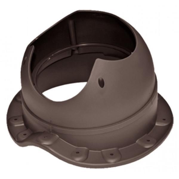 Проходной элемент Krovent Base-VT Wave 110 коричневый