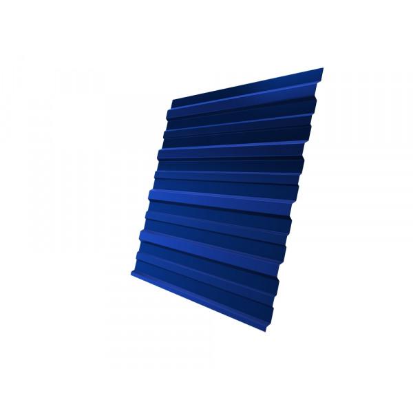 Профнастил С10A 0,45 PE RAL 5005 сигнальный синий