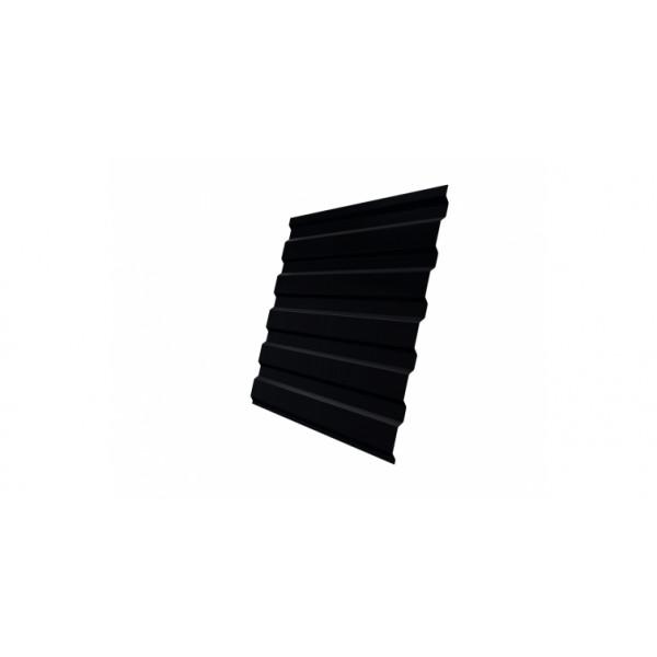 Профнастил С20А 0,5 Satin RAL 9005 черный