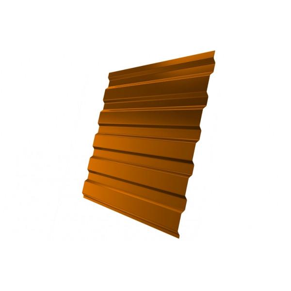 Профнастил С20А 0,45 PE RAL 2004 оранжевый