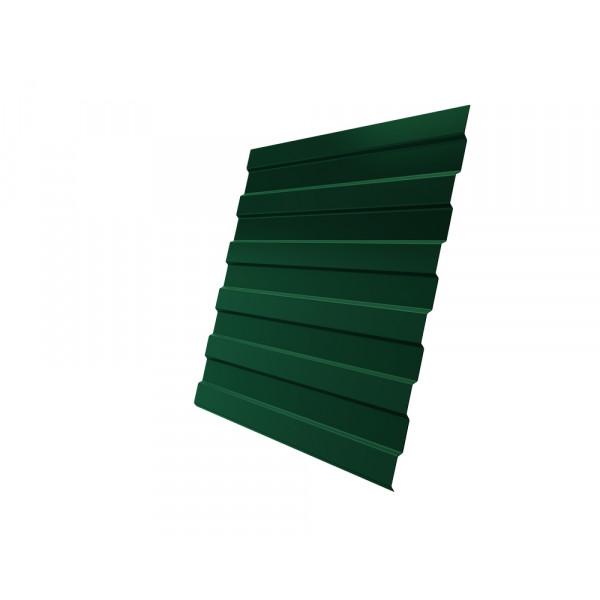 Профнастил С8А 0,45 PE RAL 6005 зеленый мох