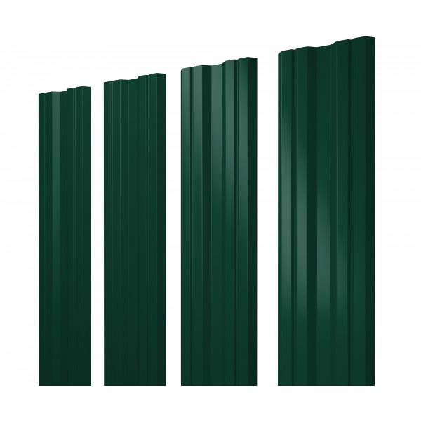 Штакетник Twin 0,45 PE RAL 6005 зеленый мох