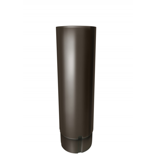 Труба круглая 100 мм 3 м RR 32 темно-коричневый