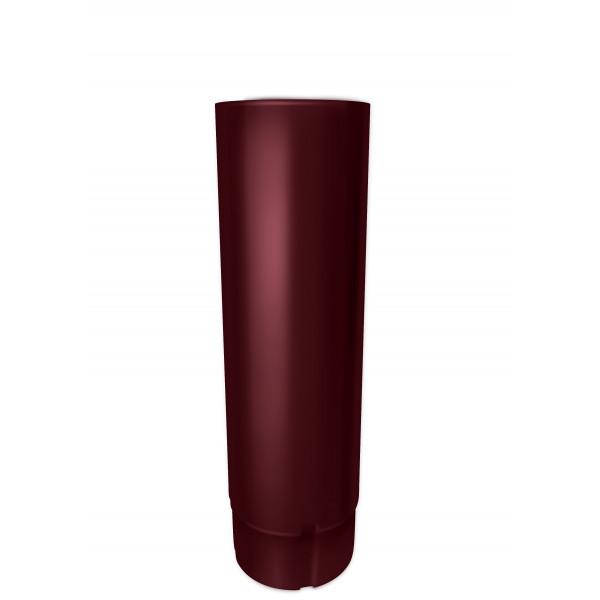 Труба круглая Optima 90мм 3м RAL 3005 красное вино